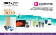 PNY is ready to impress visitors at Computex …