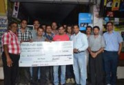 RCTA Donated Rs. Two  lakh for Nepal Earthqua…