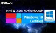 ASRock's Motherboards Get 'Windows 10 Compati…