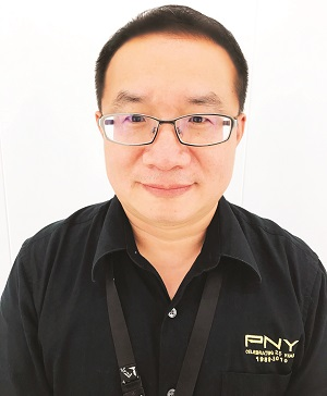 Calvin Yang Sales Director, PNY Technologies Asia
