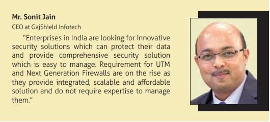 Mr Sonit Jain, CEO at GajSheild